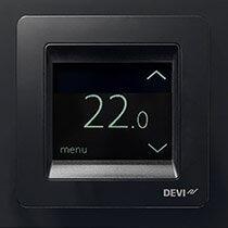 Devireg Touch Czarny- termoregulator z ekranem dotykowym firmy DEVI 5 LAT GWARANCJI !