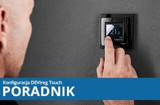 Jak ustawić termostat DEVIreg Touch?
