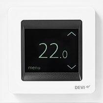 Devireg Touch biały- termoregulator z ekranem dotykowym firmy DEVI